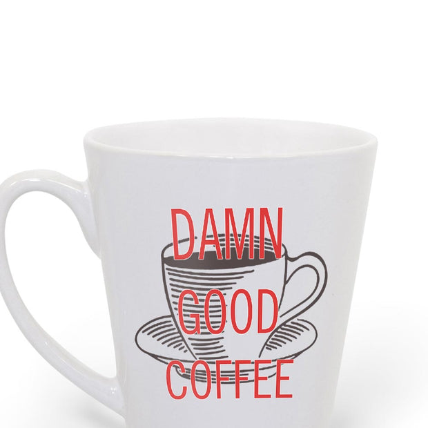 Twin Peaks Damn Good Coffee Cup 12 oz Latte Mug