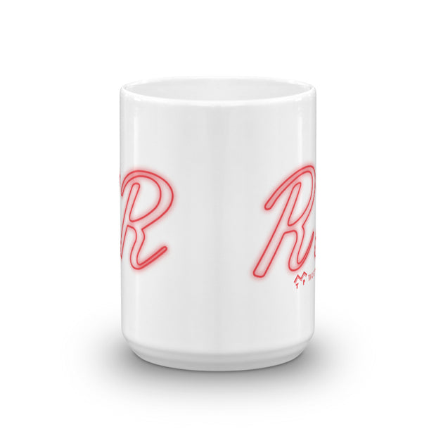 Twin Peaks Double R Diner White Mug