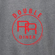 Twin Peaks Double R Diner Lightweight Zip Up Hooded Sweatshirt