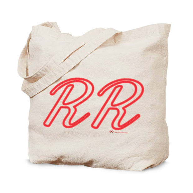 Twin Peaks Double R Diner Neon Canvas Tote Bag