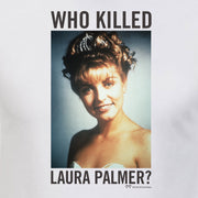 Twin Peaks Who Killed Laura Palmer? Adult Short Sleeve T-Shirt