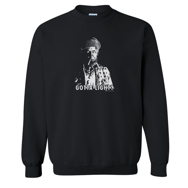 Twin Peaks Gotta Light? Fleece Crewneck Sweatshirt