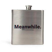 Twin Peaks Meanwhile 3D Stainless Steel Flask