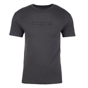 Twin Peaks Black as Midnight Handwritten Adult Short Sleeve T-Shirt