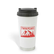 Twin Peaks Mountain Range 16 oz Stainless Steel Thermal Travel Mug