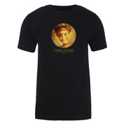 Twin Peaks Golden Orb with Laura Adult Short Sleeve T-Shirt