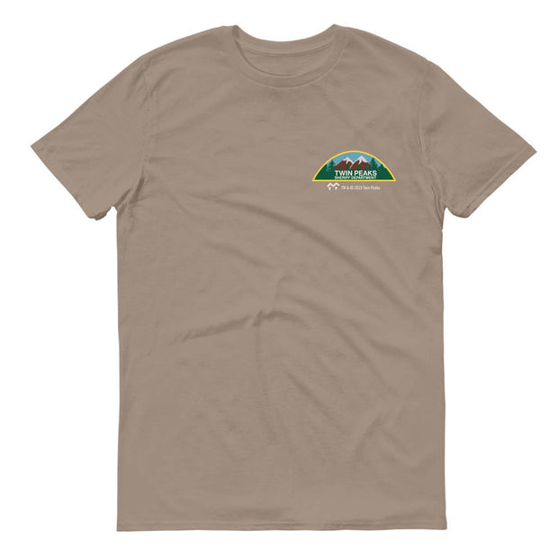 Twin Peaks Sheriff's Department Personalized Adult Short Sleeve T-Shirt