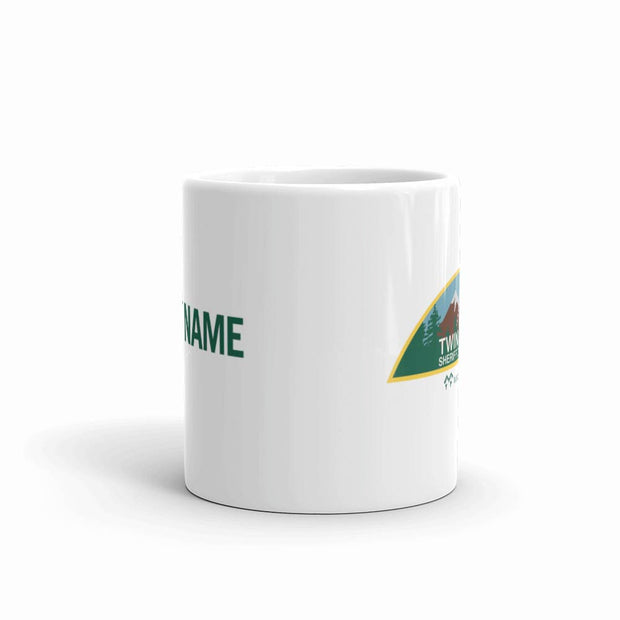 Twin Peaks Sheriff's Department Personalized 11 oz White Mug