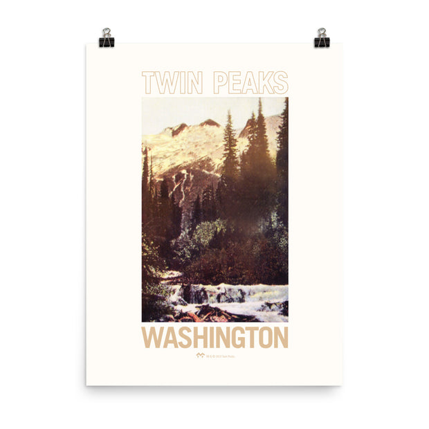 Twin Peaks Picturesque Postcard Premium Poster