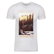 Twin Peaks Picturesque Postcard Adult Short Sleeve T-Shirt