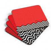 Twin Peaks Red Room Coasters - Set of 4