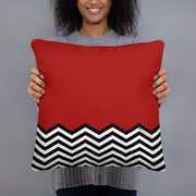 "Twin Peaks Red Room Throw Pillow - 16"" x 16"""
