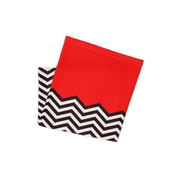 Twin Peaks Red Room Chevron Face Covering