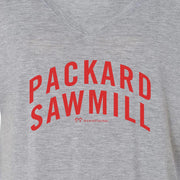 Twin Peaks Packard Sawmill Women's Relaxed V-Neck T-Shirt