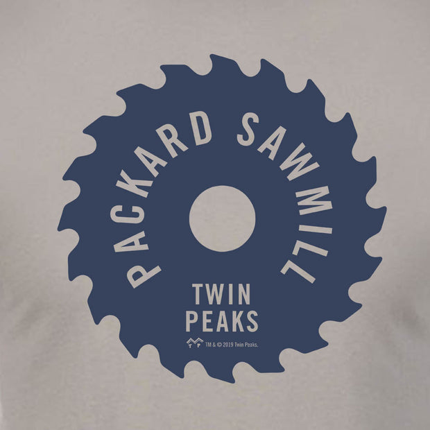Twin Peaks Packard Sawmill Blade Adult Short Sleeve T-Shirt