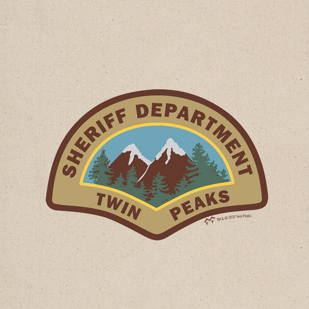 Twin Peaks Sheriff's Department Canvas Tote Bag