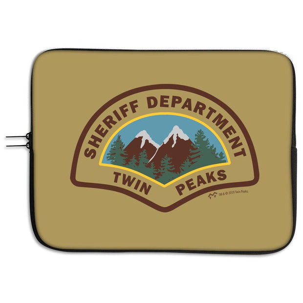 Twin Peaks Sheriff's Department Laptop Case