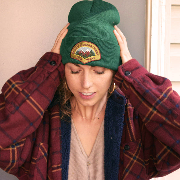 Twin Peaks Sheriff's Department Beanie