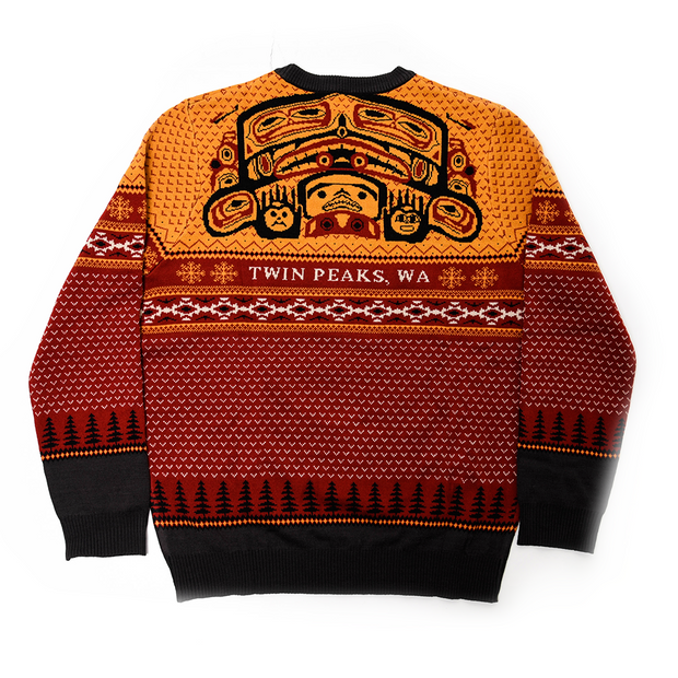 Twin Peaks Great Northern Hotel Holiday Sweater