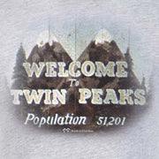 Twin Peaks Welcome to Twin Peaks Adult Short Sleeve T-Shirt