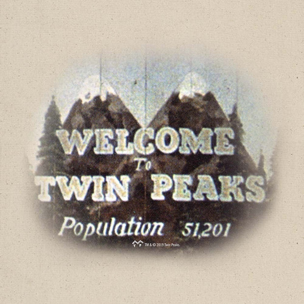 Twin Peaks Welcome to Twin Peaks Canvas Tote Bag