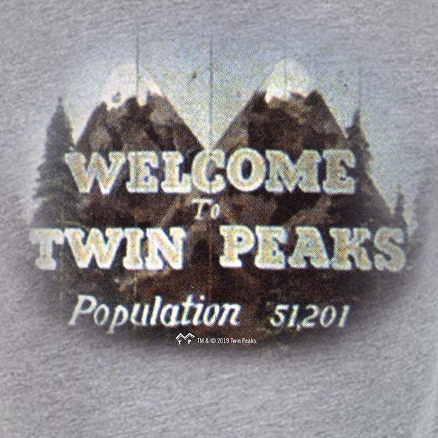 Twin Peaks Welcome to Twin Peaks Men's Tri-Blend T-Shirt