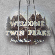 Twin Peaks Welcome to Twin Peaks Fleece Zip-Up Hooded Sweatshirt