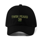 Twin Peaks 30th Anniversary Logo Embroidered Hat