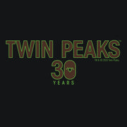 Twin Peaks 30th Anniversary Logo Adult Long Sleeve T-Shirt