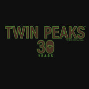 Twin Peaks 30th Anniversary Logo Men's Tri-Blend T-Shirt