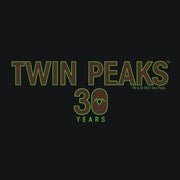 Twin Peaks 30th Anniversary Logo Women's Tri-Blend T-Shirt