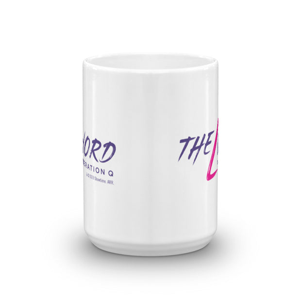 The L Word: Generation Q Logo White Mug