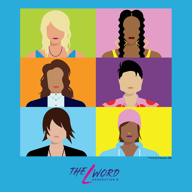 The L Word: Generation Q Faces Adult Tank Top