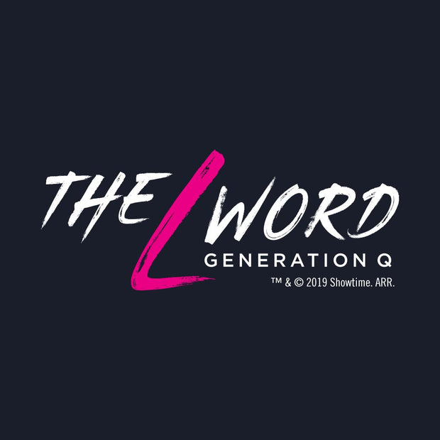 The L Word: Generation Q Logo Men's Tri-Blend T-Shirt