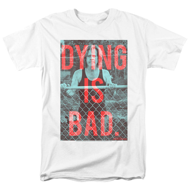 Shameless Dying Adult Short Sleeve T-Shirt