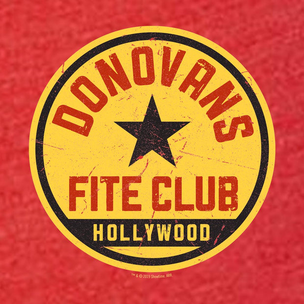 Rav Donovan Fite Club Distressed Logo Women's Tri-Blend T-Shirt