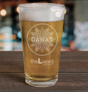 The L Word: Generation Q Dana's Bar Logo 16 oz Laser Engraved Pint Glass