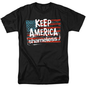 Shameless Keep America Shameless Adult Short Sleeve T-Shirt