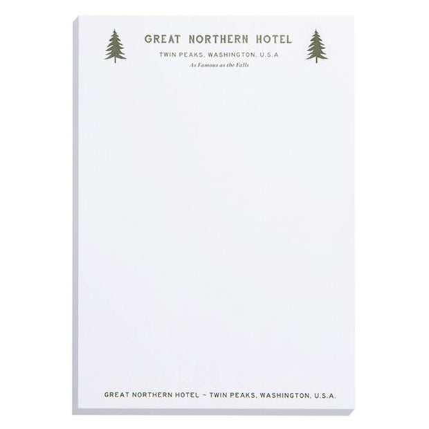 Twin Peaks Great Northern Hotel Notepad