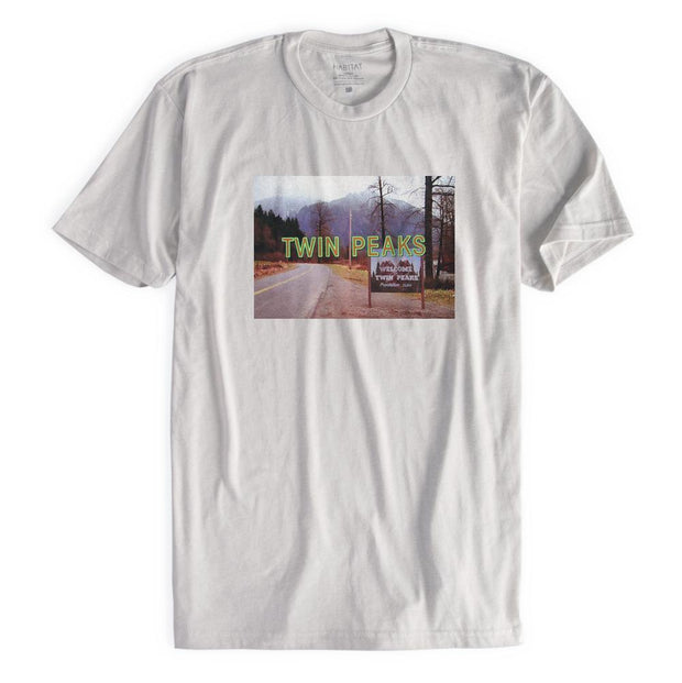 Twin Peaks Opening Title Adult Short Sleeve T-Shirt