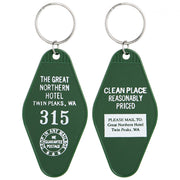 Twin Peaks Great Northern Hotel Room #315 Key Tag