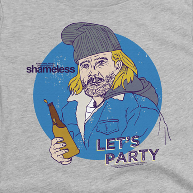 Shameless Let's Party Women's Short Sleeve T-Shirt