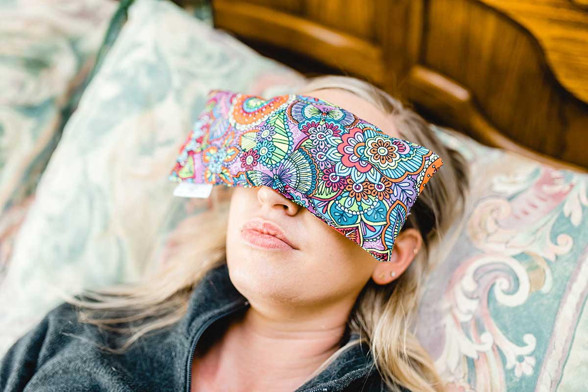 Ease Anxiety with an Eye Pillow
