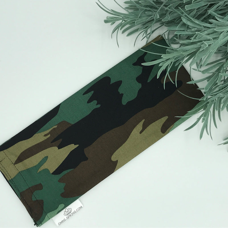 Camouflage Eye Pillow