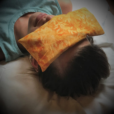 Golden Sunshine Eye Pillow