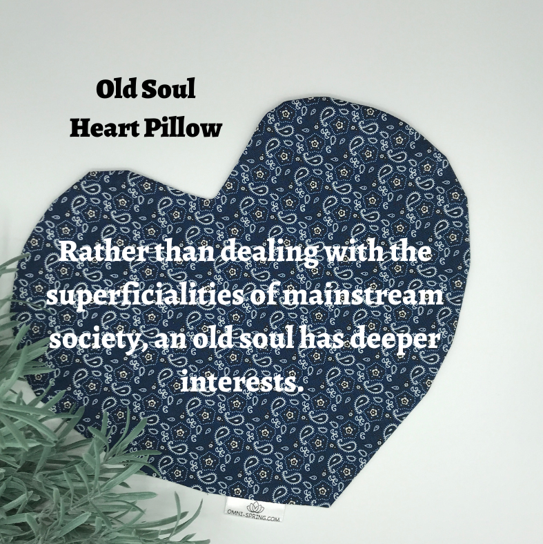 Heart Pillow - Old Soul