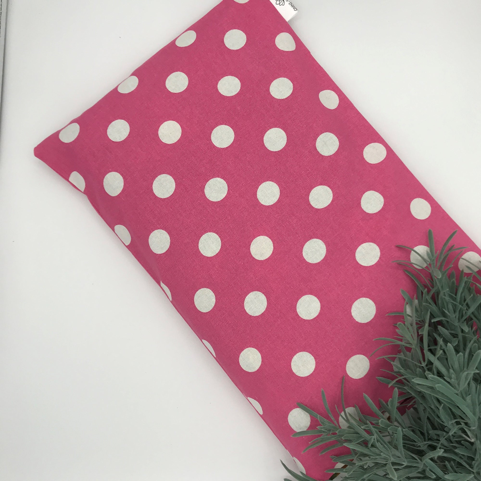 HUGGY PILLOW - Pink Polka Dot