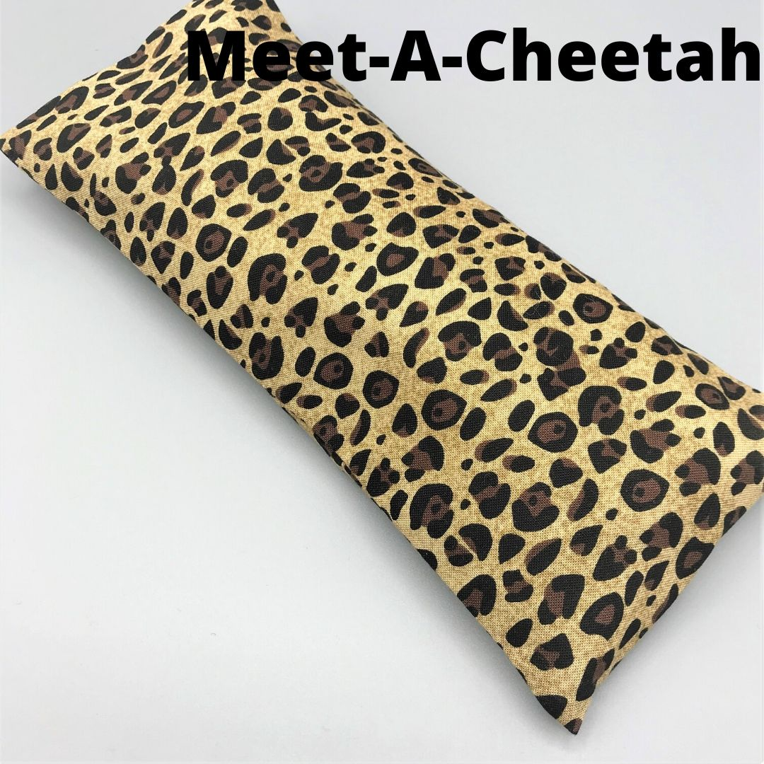 Meet-A-Cheetah! Eye Pillow