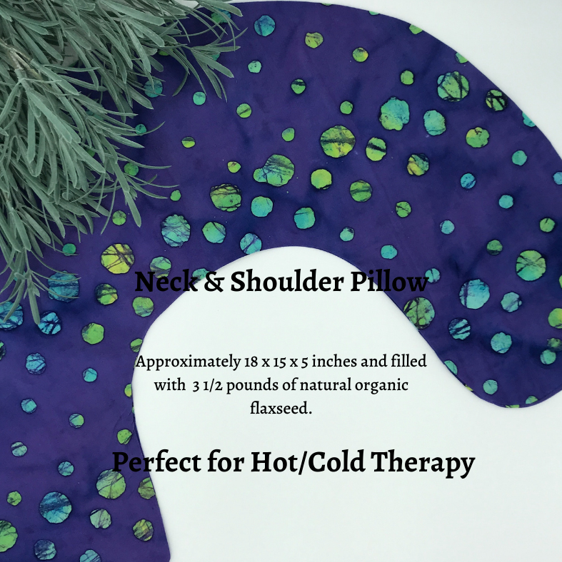 Neck & Shoulder Pillow - Chakra