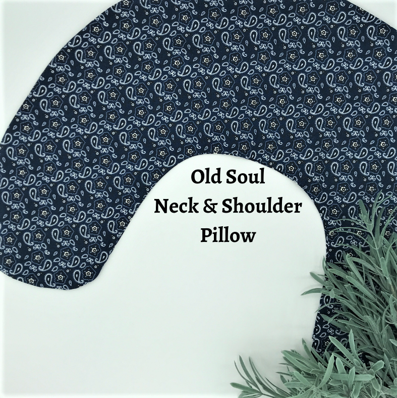 Neck & Shoulder Pillow - Old Soul